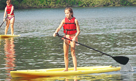 Stand Up Paddle Board at Camp Foss
