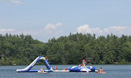 Inflatables at Camp Foss